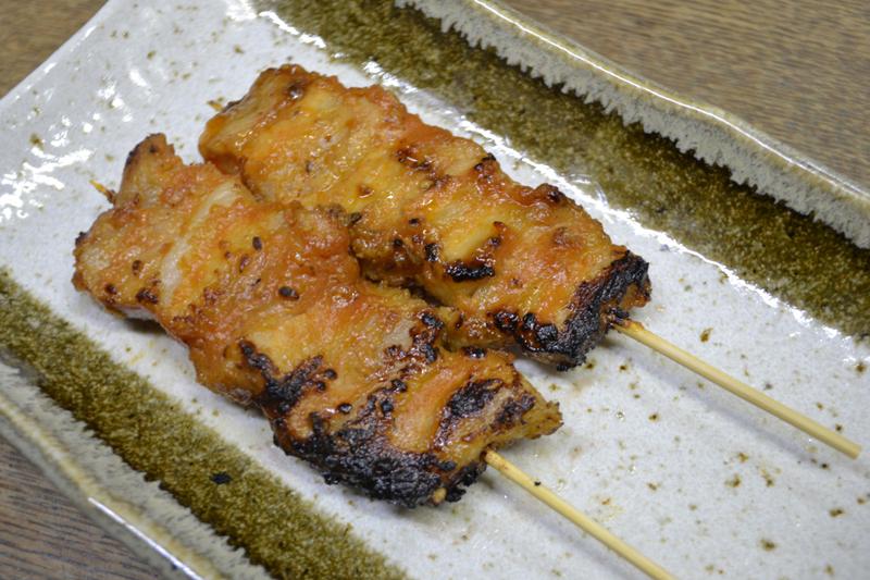 豚ばら味噌焼 70円