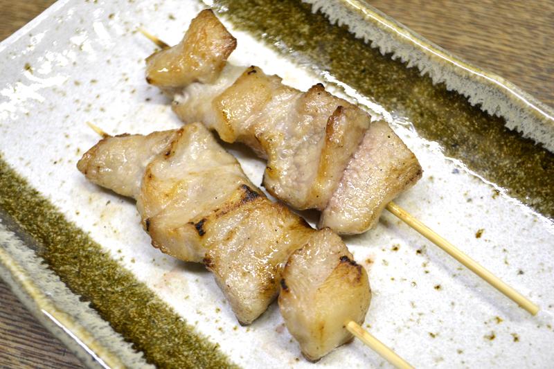 豚トロ塩焼 70円
